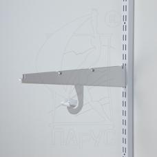 9926 Крючок для штанги 25мм (Белый)