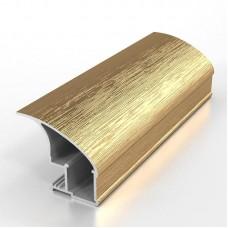 Профиль вертикальный L NEW ПРЕМИАЛ золото браш 5,4