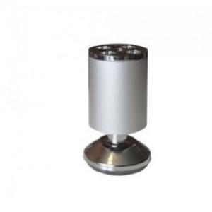 1521 Опора d-38мм h-79-86мм алюмин.