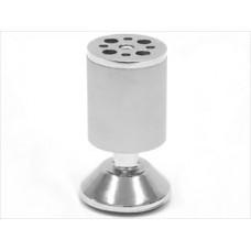 1528 Опора d-50мм h-99-106мм алюмин.