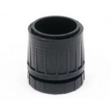 1627 Низ на трубу D=60мм цвет черный