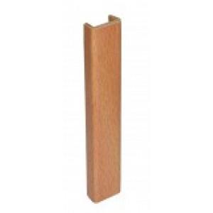 3164 Торцевая заглушка цоколя 4м 100мм пластик,бук
