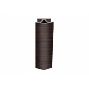 3173 Соединение цоколя 4м 100мм 135*(универсальное) пластик, венге