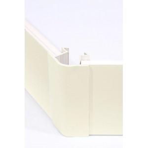 3177 Соединение цоколя 4м 100мм 135*(универсальное) пластик, ваниль