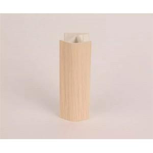 3179 Соединение цоколя 4м 100мм 135* (универсальное) пластик, дуб беленый