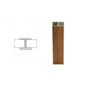 3126 Соединение цоколя 4м 100мм 180* пластик, бук