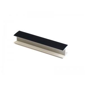 3199 Соединение цоколя 4м 100мм 180* пластик,черный