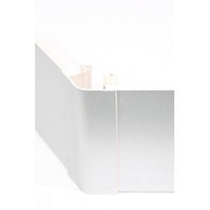 Угол цоколя 3.2м 150мм 135гр. декор алюминий