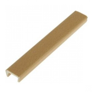 Торцевая заглушка цоколя 4м 150мм пластик,бук