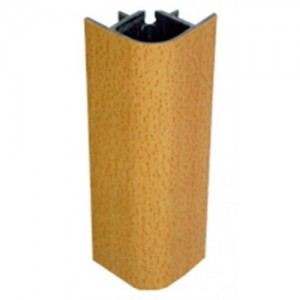 3116 Соединение цоколя 4м 100мм 90*(внешнее) пластик, бук