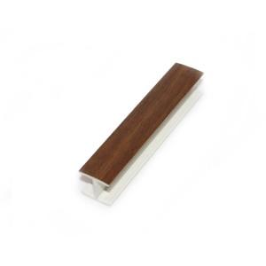Торцевая заглушка к цоколю 3.2м орех экко