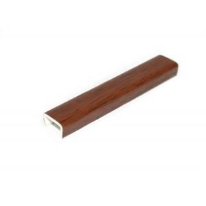 3840 Торцевая заглушка к цоколю орех экко