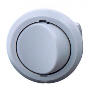 9188 Выключатель D27 встр 5А Серый 09.110.02.120