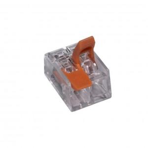 9198 Соединитель клем 2P-mini быстзж 10.126.02.322