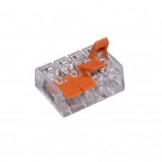 91990 Соединитель клем 4P-mini быстз 10.126.04.322