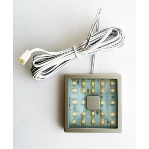 1923 Светильник 24 LED накладной 60x60мм Мф
