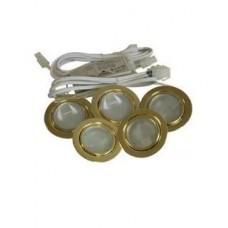 1934 Комплект 5 светильников FT9251 золото 19.141.01.670