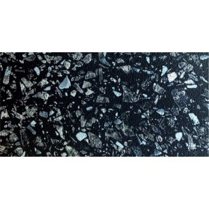 5021ГЛ  кромка глянцевая Черное серебро 3000x50мм