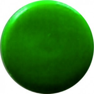 11703 Заглушка под евровинт зелёная глянец