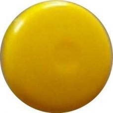 11707 Заглушка под евровинт жёлтый глянец