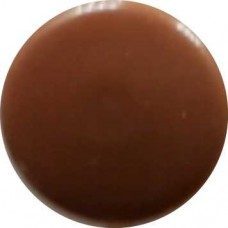 1655 Заглушка под евровинт светло-коричневая/груша №1