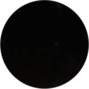 51 Заглушка-самокл. №102  ГЛЯНЕЦ ЧЕРНЫЙ  (PARLAK SIYAH) д.14мм РС2325