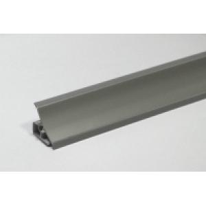 961 Плинтус для столешницы 3м металлик АКВ-9006