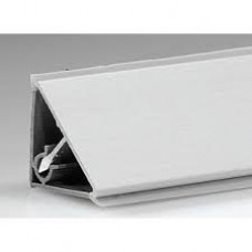 928 Плинтус кухонный алюминиевый (гладкий) 3,05м