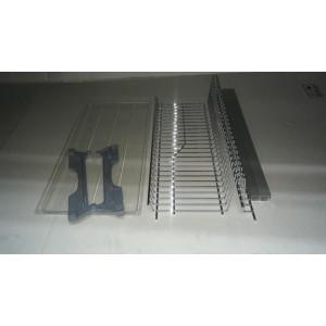 4065 Сушка в верхнюю базу одинарная под тарелки с поддоном толстый пруток 600мм