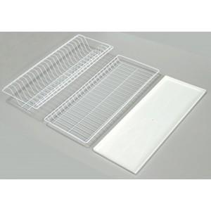 1010 Комплект посудосушителя (700мм) белый с поддоном 665х256мм