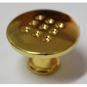 4436 Ручка мебельная золото