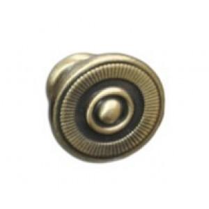 4491 Ручка-кнопка мебельная бронза