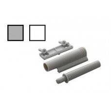 Амортизатор скрытого крепежа (белый, серый)