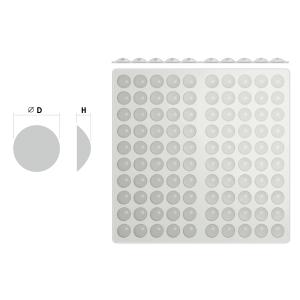 Отбойники силиконовые (10х1.5мм) 100шт