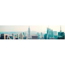 Панель ASP03 Город голубой 2800*610*6мм