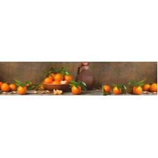 Панель ASP05 Натюрморт с мандаринами 2800*610*6мм