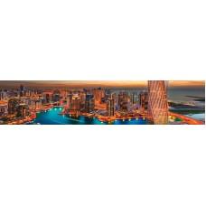 Панель ASP21 Современный город 2800*610*6мм
