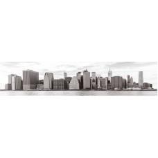 Панель ASP23 Город серый 2800*610*6мм