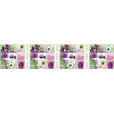 Панель F08 Тюльпаны 2800х610х6мм