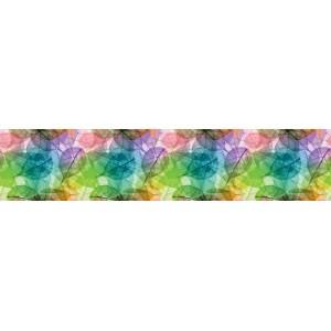 Панель F36 Цветные листья 2800х610х6мм