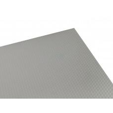 3743 Рейлинг д/метабоксов 450мм белый под фрезеровку (111904)