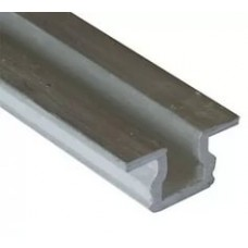 317 Направляющая однополозная для Akces,алюминий,2м