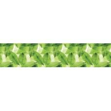Панель AF25 Зелёные листья 2800х610х6мм