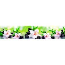 Панель AF45 Бамбук и орхидея 2800х610х6мм