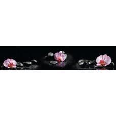 Панель AF30 Орхидея на камнях 2800х610х6мм