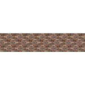 Панель AL25 Римский камень коричневый 2800*610*4мм