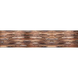 Панель AL26 Скала коричневая 2800*610*4мм