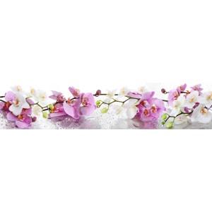 Панель AL30 Нежные орхидеи 2800*610*4мм