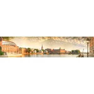Панель AL31 Город на воде 2800*610*4мм