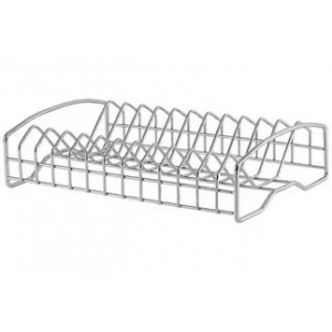3601 Подставка для посуды, хром (длинная)
